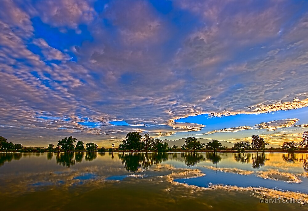 Overcast Morning III by Marvin Collins