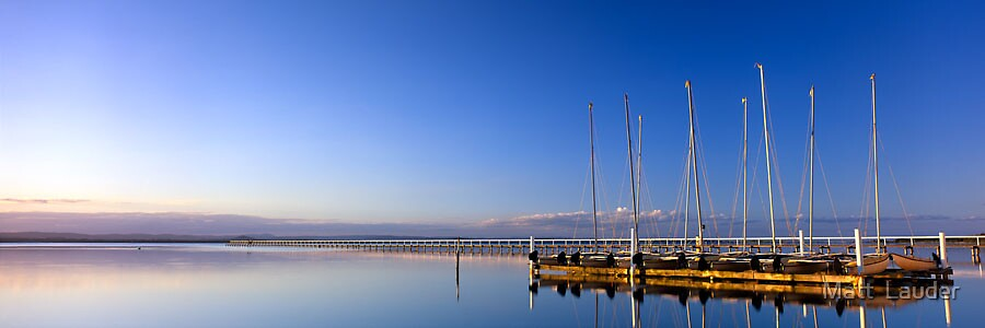 Long Jetty, Central Coast by Matt  Lauder