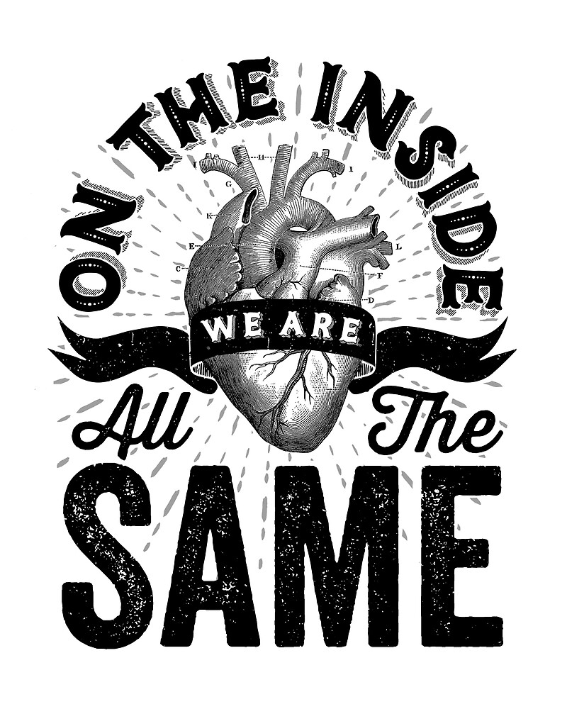 On The Inside We Are All The Same. by wolfandbird