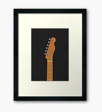 Telecaster Guitar Framed Print