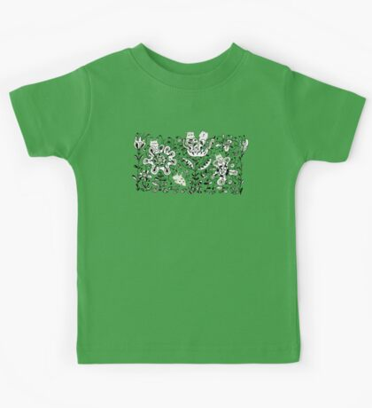 Friendly Flower Monsters Kids Clothes