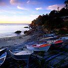 Gordon Bay Boats, Sydney by Matt  Lauder