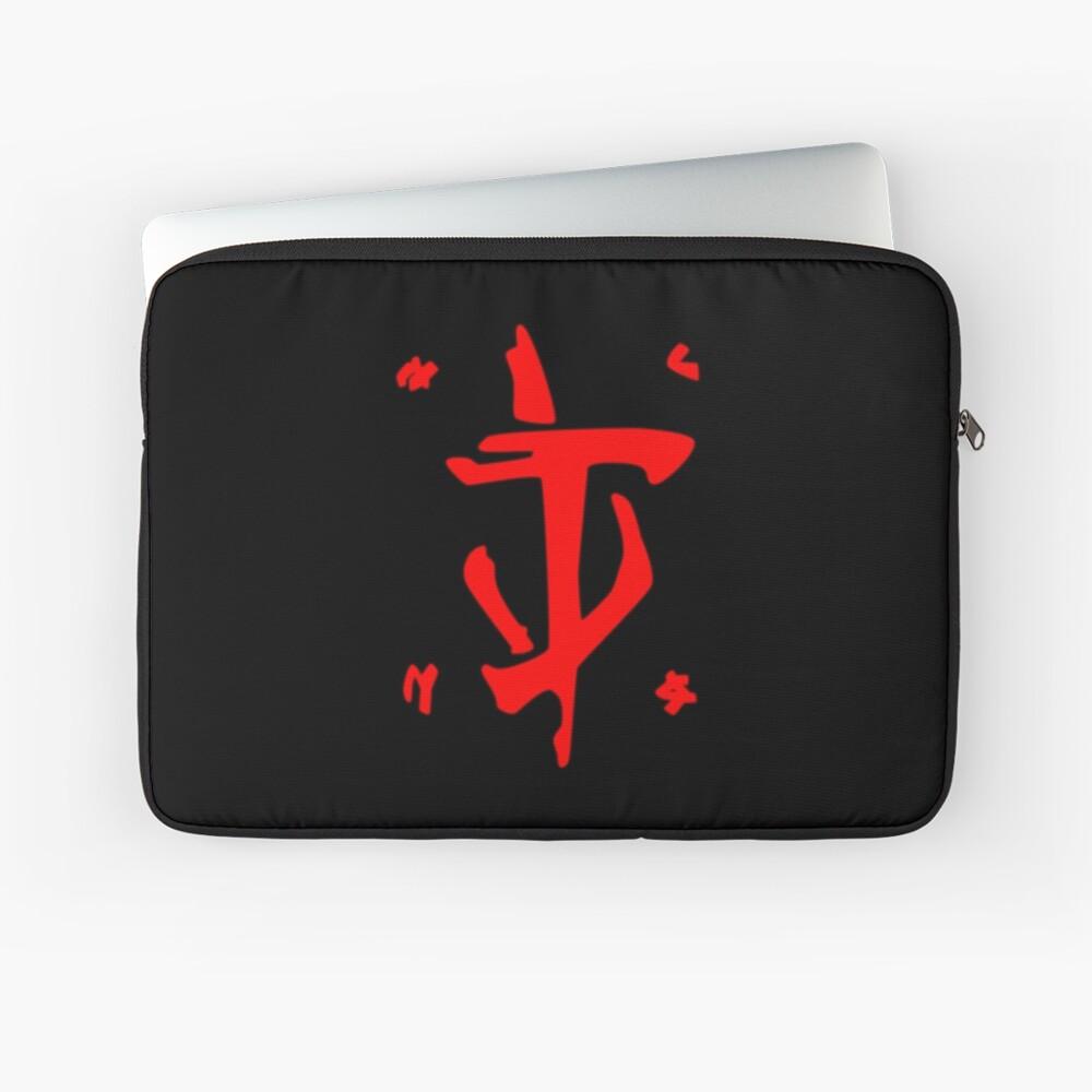 Mark of the Doom Slayer - Red Laptop Sleeve