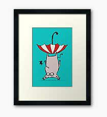 Upside Down Animal  Framed Print
