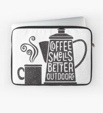 Coffee Smells Better Laptop Sleeve