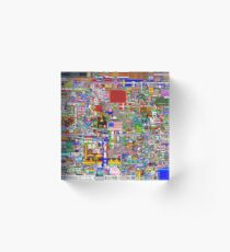 Reddit r/Place 12K Official r/TheFinalClean Cleaned Version – FINAL Revision (Without Void) Acrylic Block