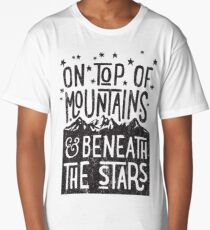 On Top Of Mountains Long T-Shirt