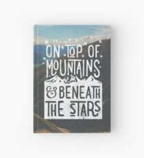 On Top Of Mountains Hardcover Journal