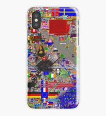 Reddit /r/Place 12K resolution (30 hours) iPhone Case/Skin