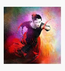 Flamencoscape 03 Photographic Print