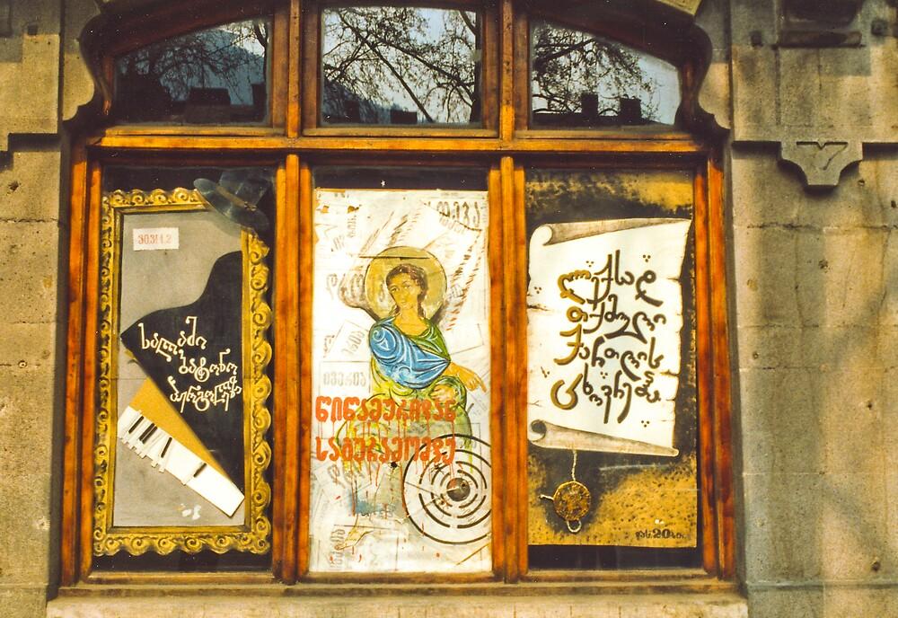 Georgian Window by Roslyn Slater