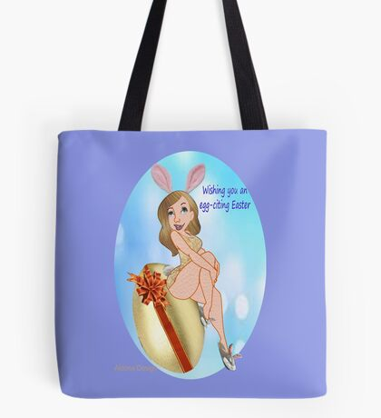 egg-citing Easter ( 2257 Views) Tote Bag