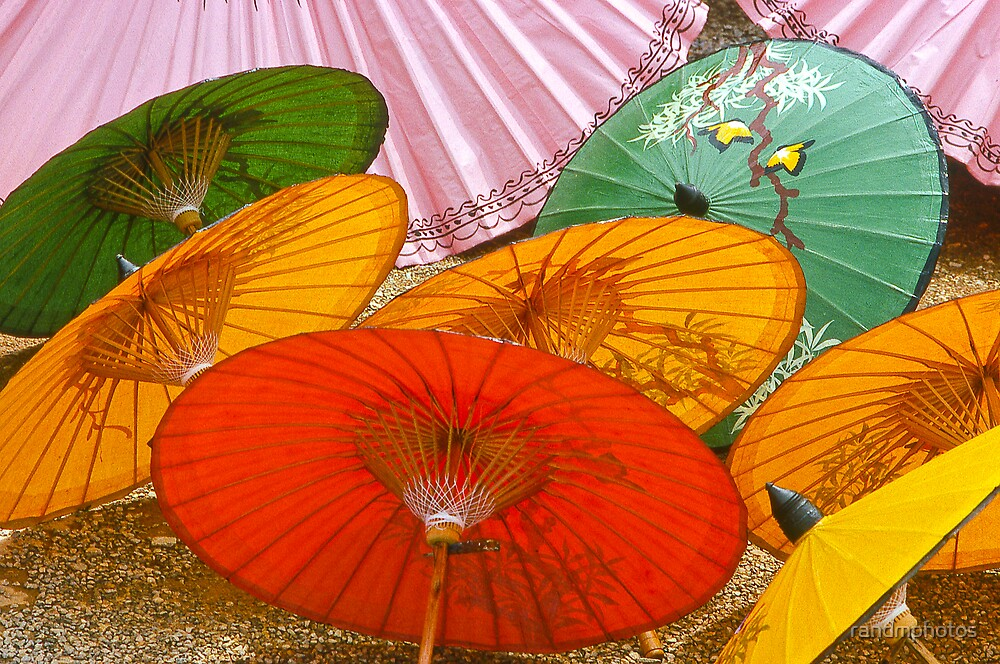 Thai Umbrellas by randmphotos