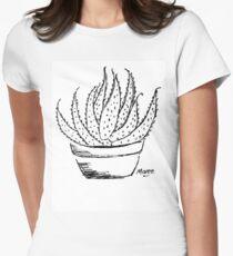 Aloe love (Marlothii) Womens Fitted T-Shirt