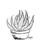 Aloe-Liebe (Marlothii) von Maree Clarkson