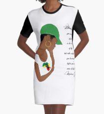 Confidence  Graphic T-Shirt Dress