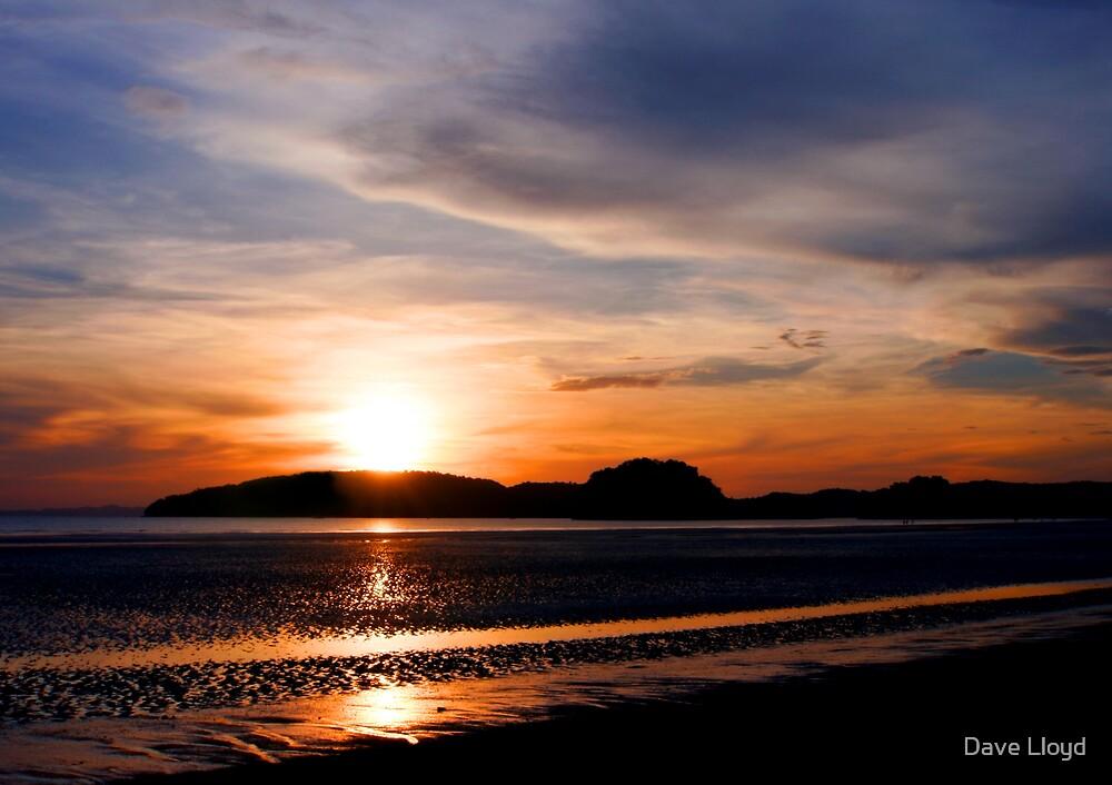 Beach Sunset by Dave Lloyd