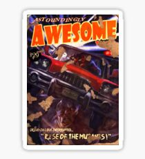 Astoundingly Awesome Tales #43 Sticker