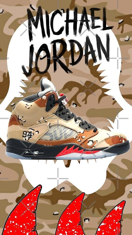 Michael Jordan Cellphone Case by veganzombie
