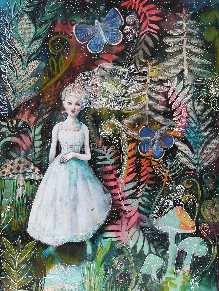 The Enchanted Night Garden by Maria Pace-Wynters
