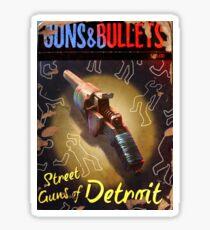 Guns and Bullets #04 Sticker