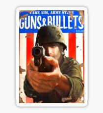 Guns and Bullets #07 Sticker