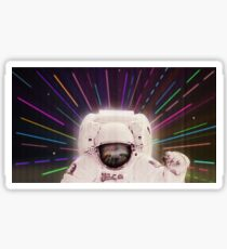 Sloth in outerspace Sticker