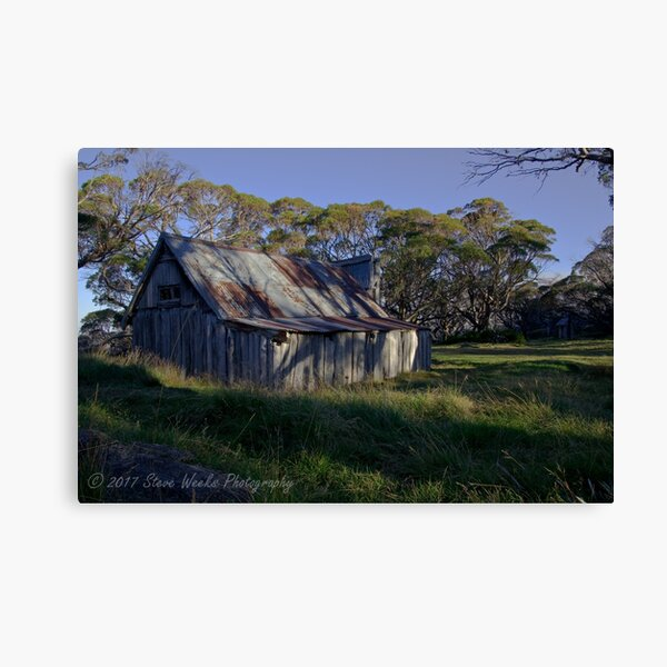 Wallace Hut Canvas Print
