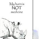 Rhino horn myth by Maree Clarkson