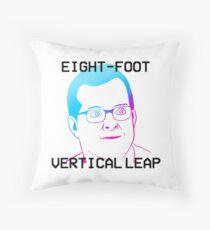 MBMBaM - EIGHT-FOOT VERTICAL LEAP Throw Pillow
