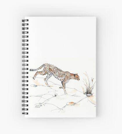 Majestic Cheetah Spiral Notebook