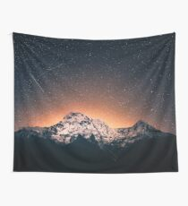 Tela decorativa Noche de Star Mountain Milky Way