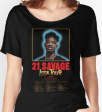 21 Savage Issa Tour Shirt Women's Relaxed Fit T-Shirt