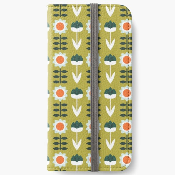 Set Sun Olive iPhone Wallet