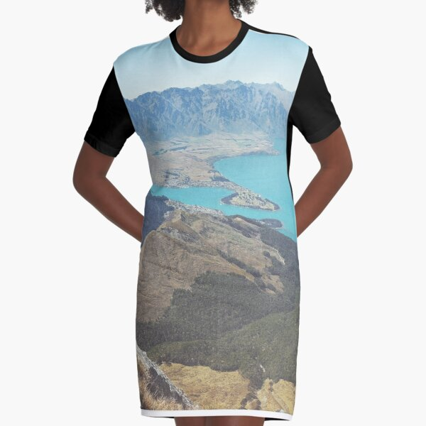 WORTH THE CLIMB Graphic T-Shirt Dress