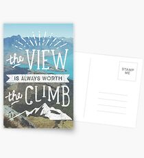 WORTH THE CLIMB Postcards