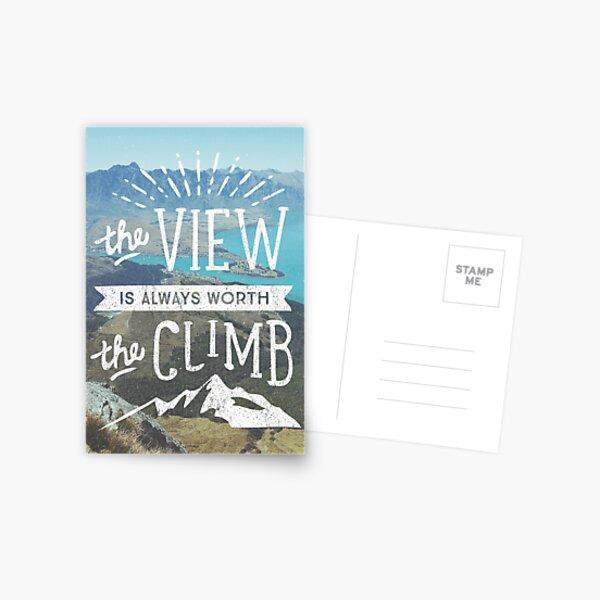 WORTH THE CLIMB Postcard