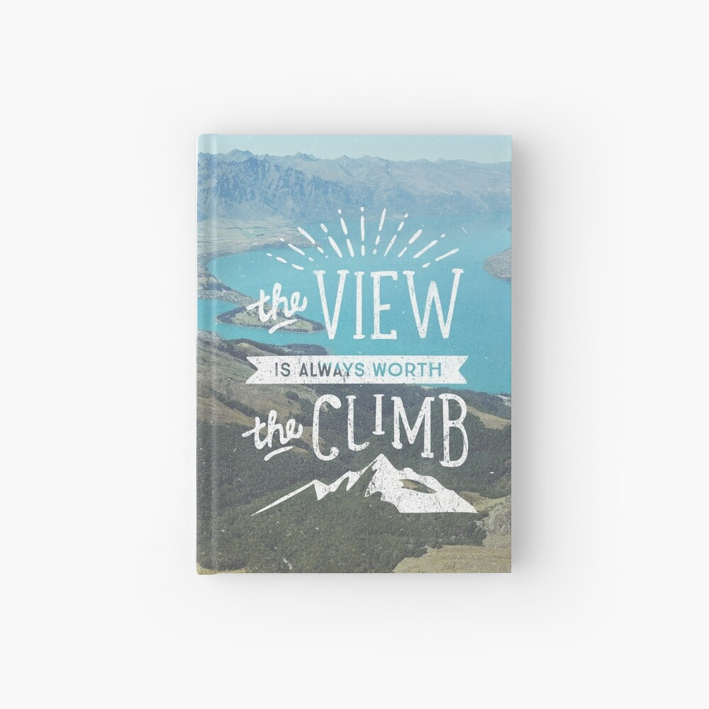 WORTH THE CLIMB Hardcover Journal