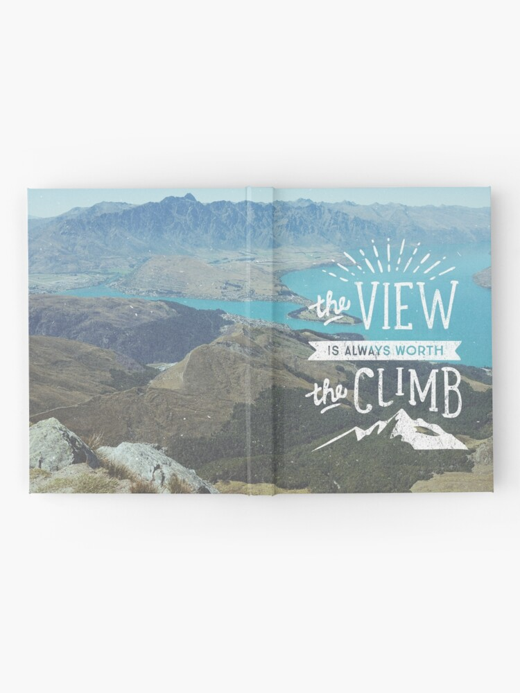 Alternate view of WORTH THE CLIMB Hardcover Journal