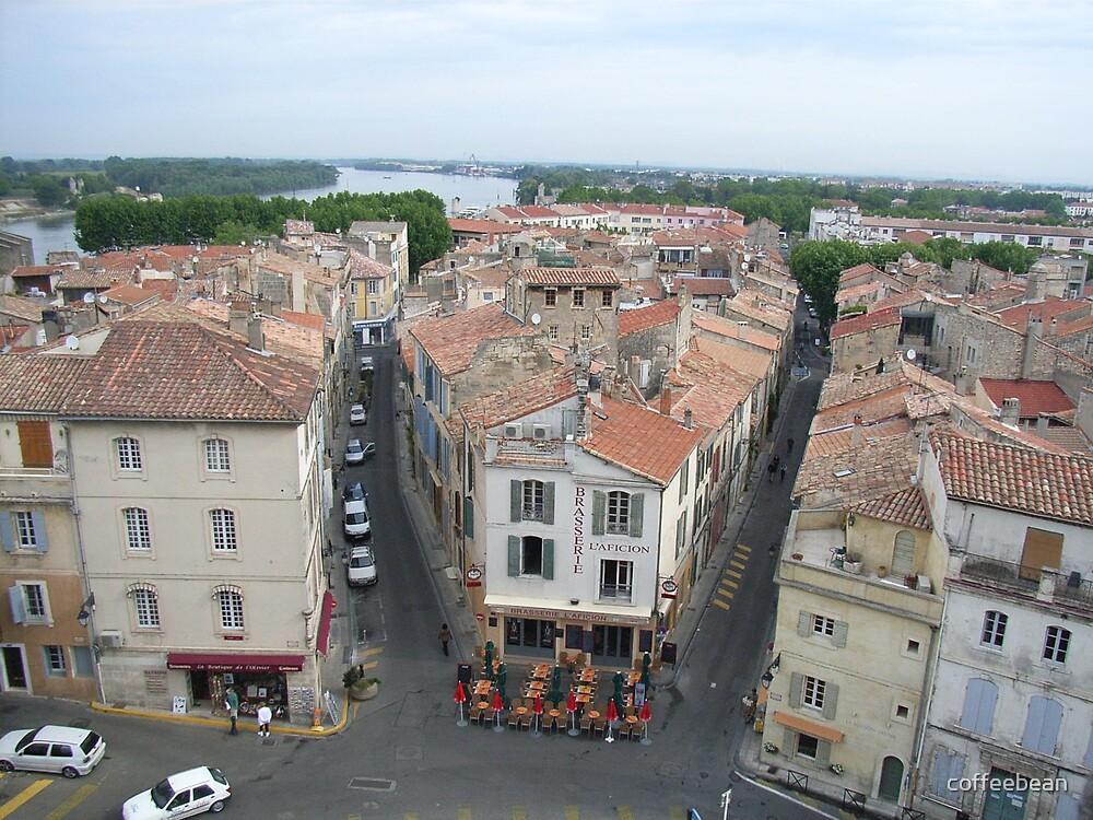Arles - A Bird's Eye View by coffeebean