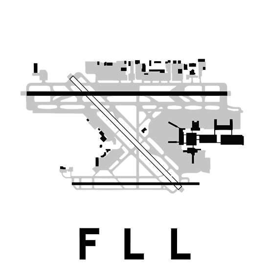 Fort Lauderdale Airport Diagram Posters By Vidicious Redbubble