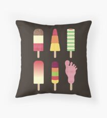 I Scream, You Scream, We All Scream For Icecream Throw Pillow