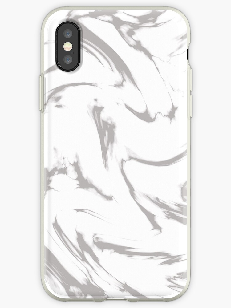 Black and White Marble Trendy Design by naturemagick