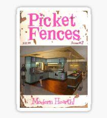 Picket Fences #02 Sticker