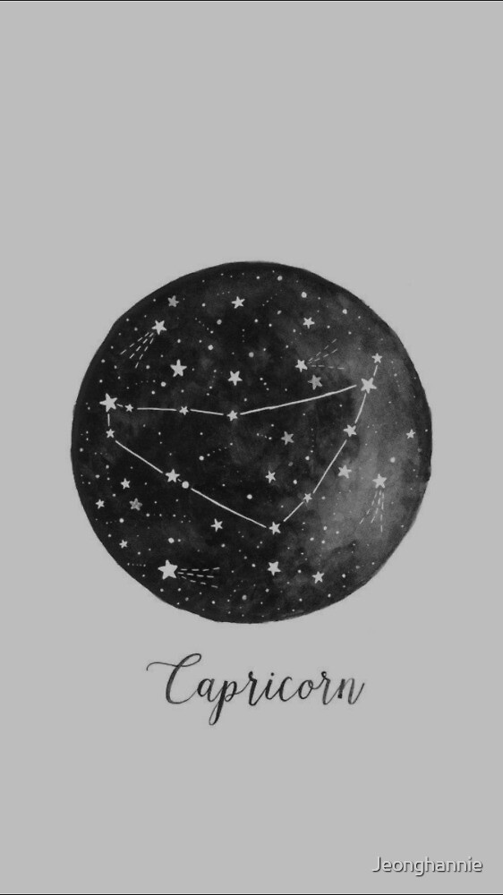 Capricorn constellation  by Jeonghannie
