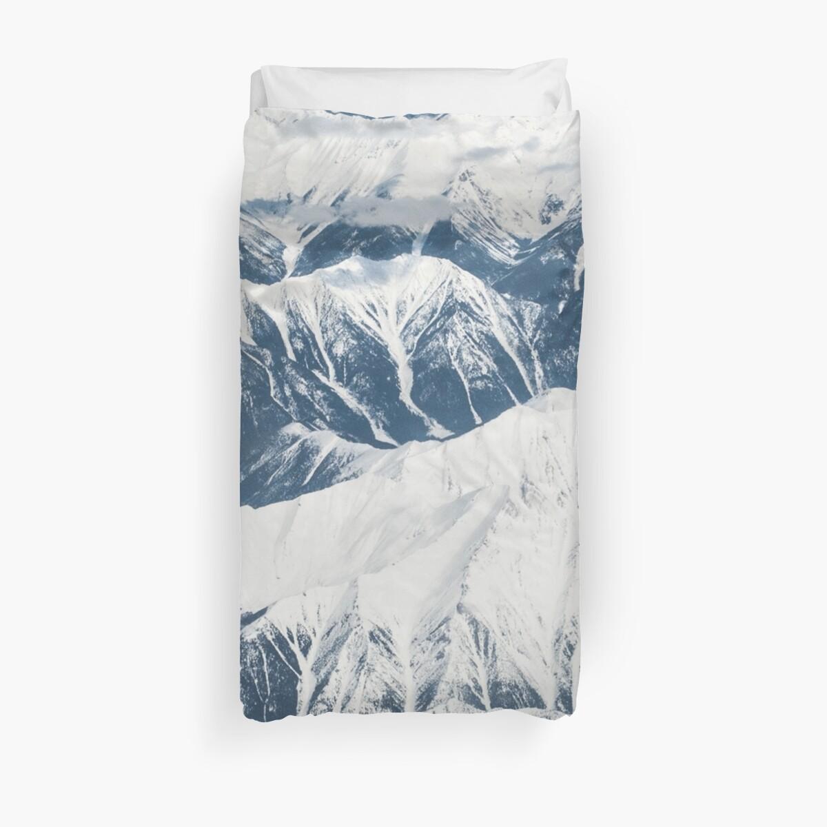 Alps Snow Mountain Range by TravelDream