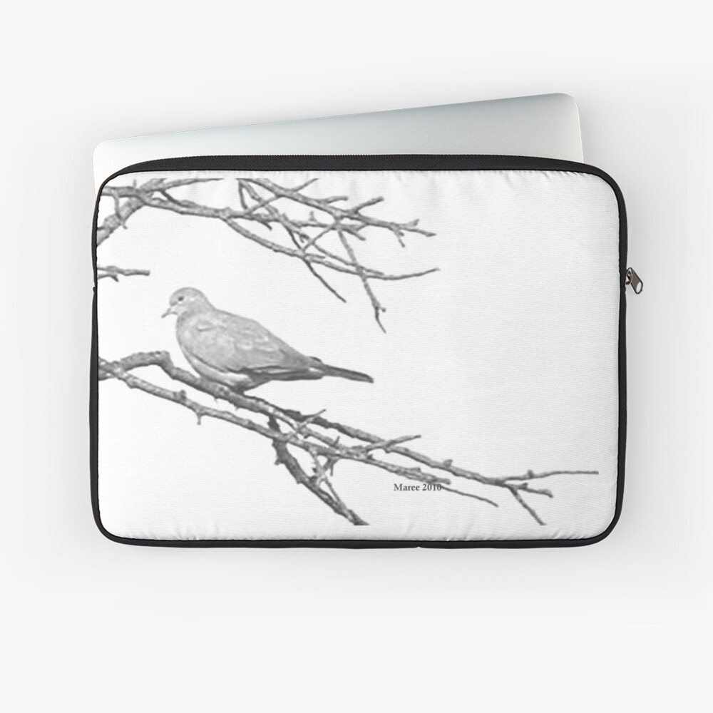 Why would you leave me...? Laptop Sleeve