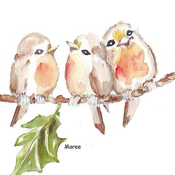 Three Little birds ♪♪♪♫ by MareeClarkson
