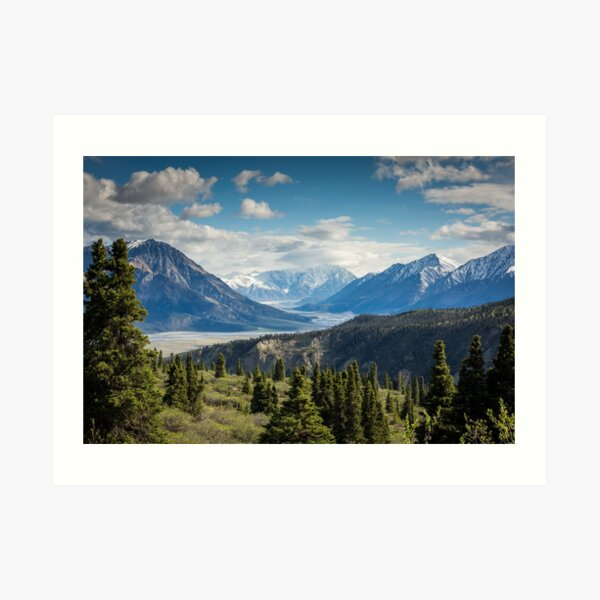 Forest Mountains River National Park Nature Photography Wall Art Art Print