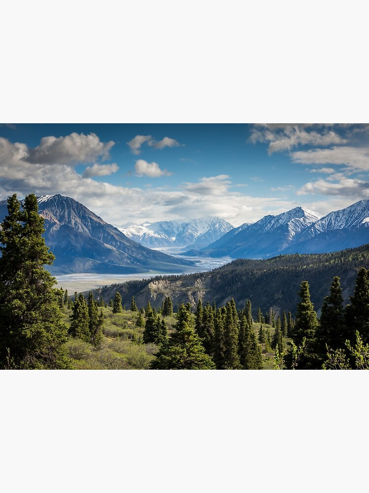 Forest Mountains River National Park Nature Photography Wall Art by TravelDream